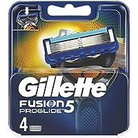 Gillette Fusion 5ProGlide–Cuchillas de afeitar para hombres, 4unidades)