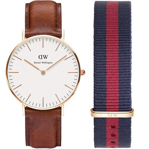 Daniel Wellington St Andrews 0507DW-0501SET Ladies Watch and Replacement Strap