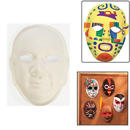 Pappmaché-Design your own. Masken x (Pappmaché Maske Designs)