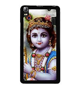 Krishna 2D Hard Polycarbonate Designer Back Case Cover for Lenovo K3 Note :: Lenovo A7000 Turbo