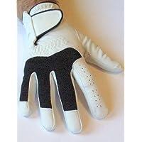 LINKSHÄNDER Golfhandschuh SWING weiss S M L XL XXL Leder Golf Handschuh