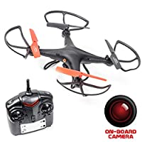 Recon Observation Drone with Camera - with SD Card (Black) from Recon