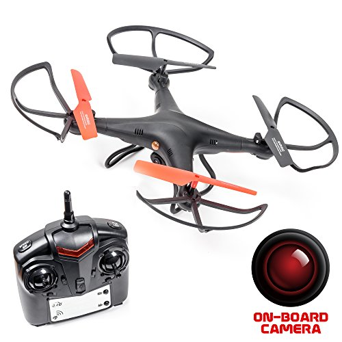 Recon Observation Drone with Camera – with 4GB SD Card (Black)