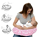 #10: Lulal Mom Comfortable Nursing Pillow For Mom & Baby New Portable Allergen Protected Especially For Breastfeeding, Propping - Pink