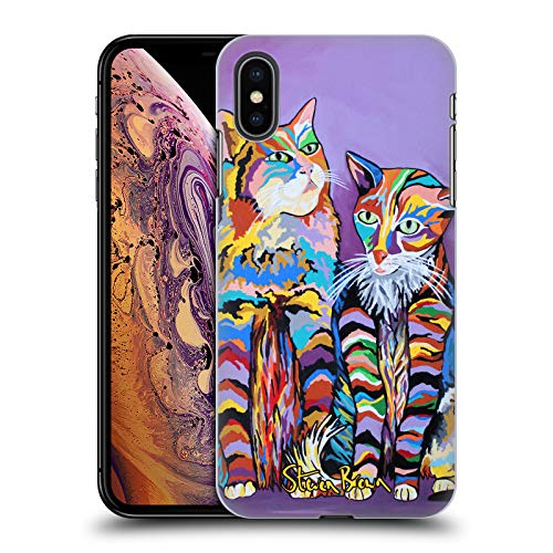 Price comparison product image Official Steven Brown Bert & Morag Mccheety Pets Hard Back Case for iPhone XS Max