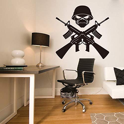 pegatina de pared frases pegatinas decorativas pared Art Decor AK 47 Weapon...