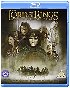 Lord Of The Rings: The Fellowship Of The Ring [Edizione: Regno Unito] [Blu-ray] [Import italien]
