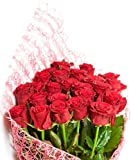 Flaberry Red Roses Bouquet (Bunch of 24)