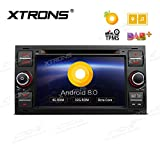 XTRONS 17,8 cm Android 8.0 4 G RAM 32 G ROM Octa Core Auto Stereo HD Digital Multi-Touchscreen DVD Player DVR Reifendruck Überwachung Wifi OBD2 Für Ford Focus 2005–2007