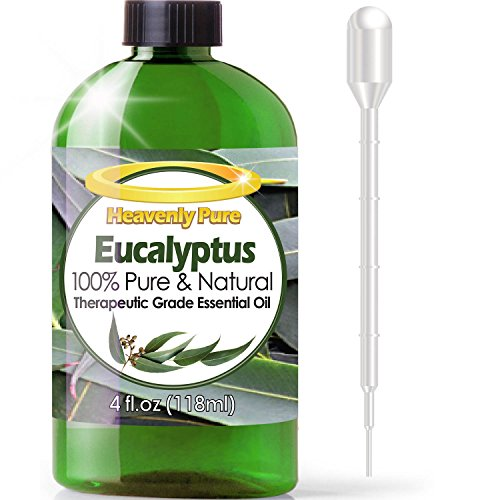Heavenly puro aceite esencial de eucalipto 4oz