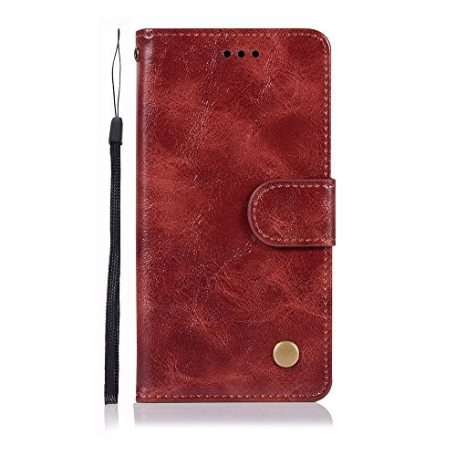 Casefirst Sony Xperia XZ2 Compact case, Skins Sony Xperia XZ2 Compact Skins Built-in Stand Function for Sony Xperia XZ2 Compact - Brown Leather 0k Compact