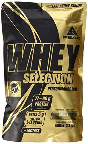PEAK Whey Selection Vanilla 1000g -