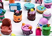 50PCS as a set Shopkins of Season 1 2 3 4 5Loose Toys Action Figure Doll