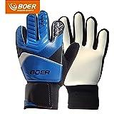 5–7# Kinder Jugend Fußball Fußball Torwart Torwart Training Handschuhe Gear