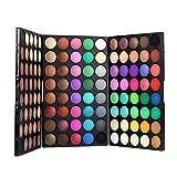 DISINO 120 Farben Lidschatten Augen Schatten Palette Make-up Kit Set Make Up Professional Box