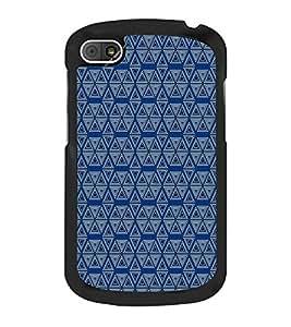 Colourful Pattern 2D Hard Polycarbonate Designer Back Case Cover for BlackBerry Q10