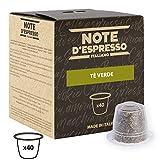 Note D'Espresso Tè Verde Capsule esclusivamente  Compatibili con Sistema Nespresso* - 120 g (40 x 3 g)