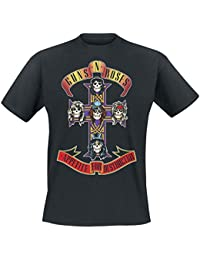 Guns N' Roses Appetite For Destruction - Cover T-Shirt schwarz