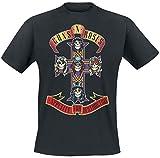 Guns N' Roses Appetite For Destruction - Cover Camiseta Negro L