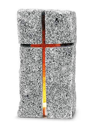 Granitstein für Kerzen