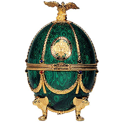 Vodka Imperial Collection Faberge Ei Smaragdgrün Faberge Imperial