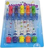 Pack of 5, Bath Water Flutes (Toy for Kids To Have Bath!) Inc Music Sheets