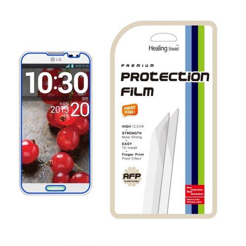 Healingshield Schutzfolie Displayschutz AFP Olephobic Premium Screen Protector for LG Optimus G Pro (Optimus Pro Lg Screen Protector)