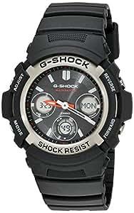 Casio AWGM100-1A 52 Plastic Case Black Plastic Men's Quartz Watch