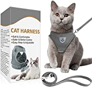 Mumoo Bear Dog and Cat Universal Harness with Leash Set, Escape Proof Cat Harnesses - Adjustable Reflective So