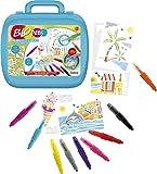 Lansay- Crayons de Couleur Blopens ma Mallette d'artiste, 23569