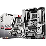 MSI X370 XPOWER GAMING TITANIUM - Placa base Entusiasta (AMD AM4 X370, OC Tools, DDR4 Boost, Steel Armor, Intel LAN, Audio Boost 4, M.2 Shield, VR Ready, Military Class V)