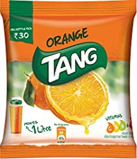 Tang Orange Instant Drink Mix, 125g Pouch