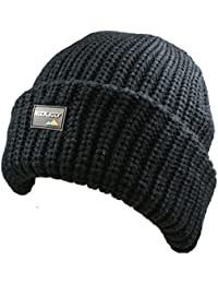Mens Official Rock Jock Thinsulate Thermal Winter Knitted Hat - Extra Thick - Very Warm - Tog Rated