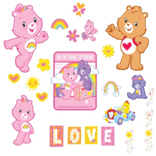 brewster-home-fashions-st99834-care-bears-appliqus-wall-stickers