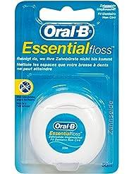 Oral-B Essentialfloss Zahnseide ungewachst, 50 m, 1 Stück
