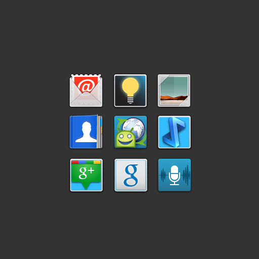 Icon Pack Blur Squared
