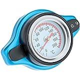 KKmoon Tapa Cubierta de Radiador Universal Termostática con Calibrador de Temperatura de Agua (0.9BAR, 1.1BAR, 1.3BAR)