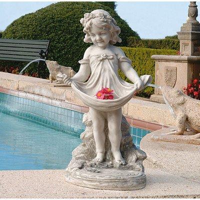 Design Toscano KY30467 - Figurín para jardín
