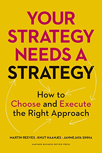Your Strategy Needs a Strategy: How to Choose and Execute the Right Approach por Martin Reeves