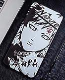 Art-design Coque iPhone 7+ Plus et iPhone 8+ Plus Luffy One Piece Uchiha Tachi Naruto Silicone Souple