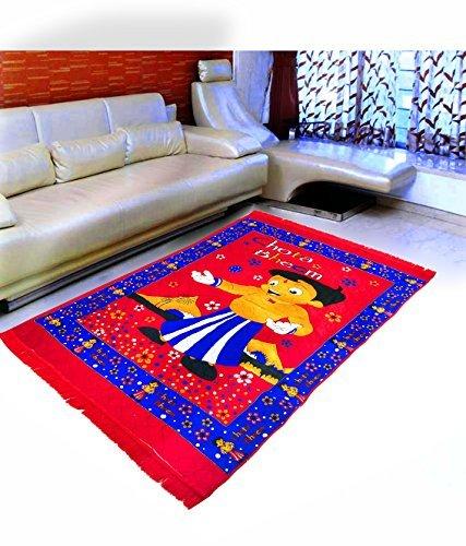 Warmland Traditional Chenille Carpet - 60