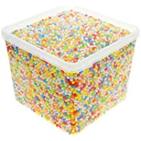 24000 PCS Bolas decorativa de la espuma de poliestireno de las bolas de la espuma del color mezclado para las artesanías del arte del hogar DIY