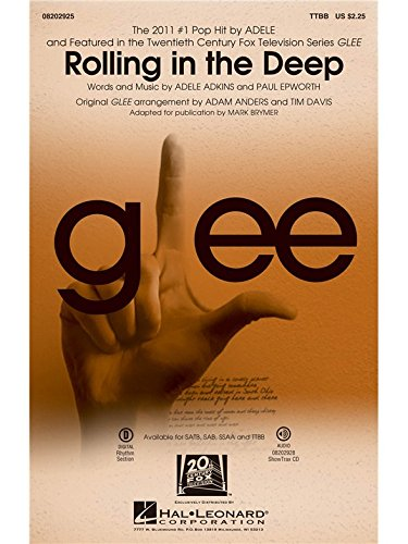 Rolling in the Deep - TTBB and Piano - CHORAL SCORE