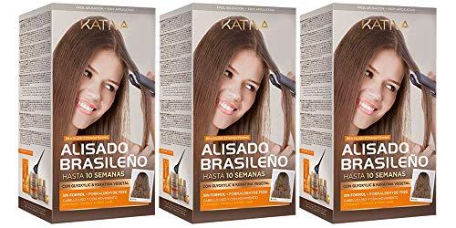 Kativa Keratina & Olio Argan allisciante brasiliano pack x3