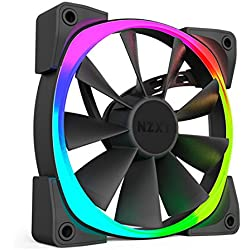 NZXT Aer RGB120 Series 120 mm RGB LED Fan - Black
