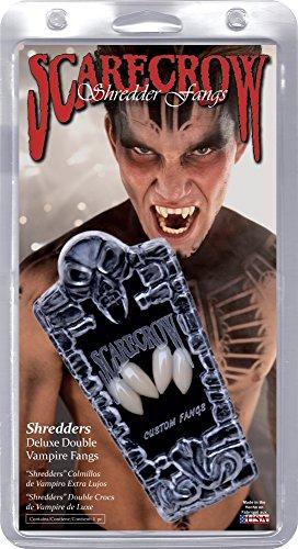 Deluxe Shredder Kind Kostüm - Schredder Deluxe Double Custom Vampire Fangs Karneval / Halloween Zubehör