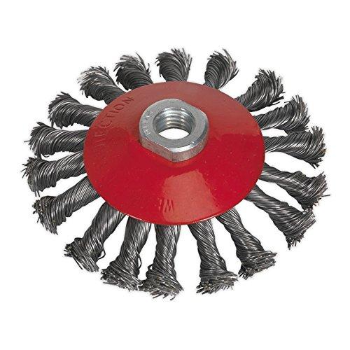 Sealey Cwb115 conique Brosse métallique 115 mm M14 x 2 mm