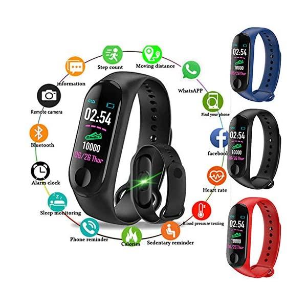 Monitor de actividad física, pantalla a color, monitor de presión arterial, frecuencia cardíaca, contador de pasos… 7