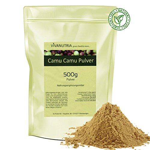 Vivanutria - 500g camu camu polvere i prodotti alimentari di
