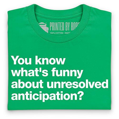 Unresolved Anticipation T-Shirt, Herren Keltisch-Grn